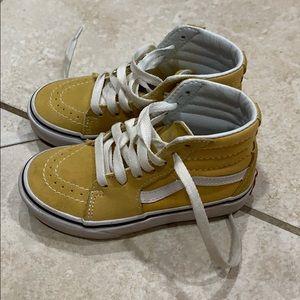 Vans Yellow Suede Sk-8 High Sneakers high tops 11